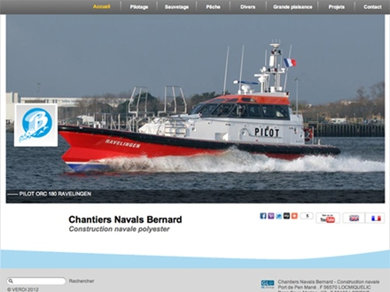 Site des Chantiers Navals Bernard à Locmiquélic (56)
