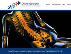 Olivier Gouronc Osteopathe Larmor Plage