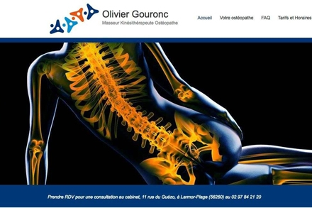 Olivier Gouronc Osteopathe Larmor Plage
