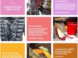 Sophie boutique depot vente Lorient