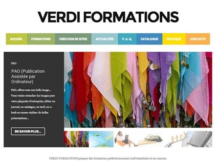 Site de Verdi Formations (Lorient, Morbihan)