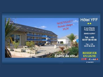 Site Hôtel YFF Auray (Morbihan)