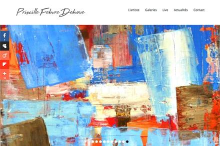 Priscille Febvre Dehove artiste peintre