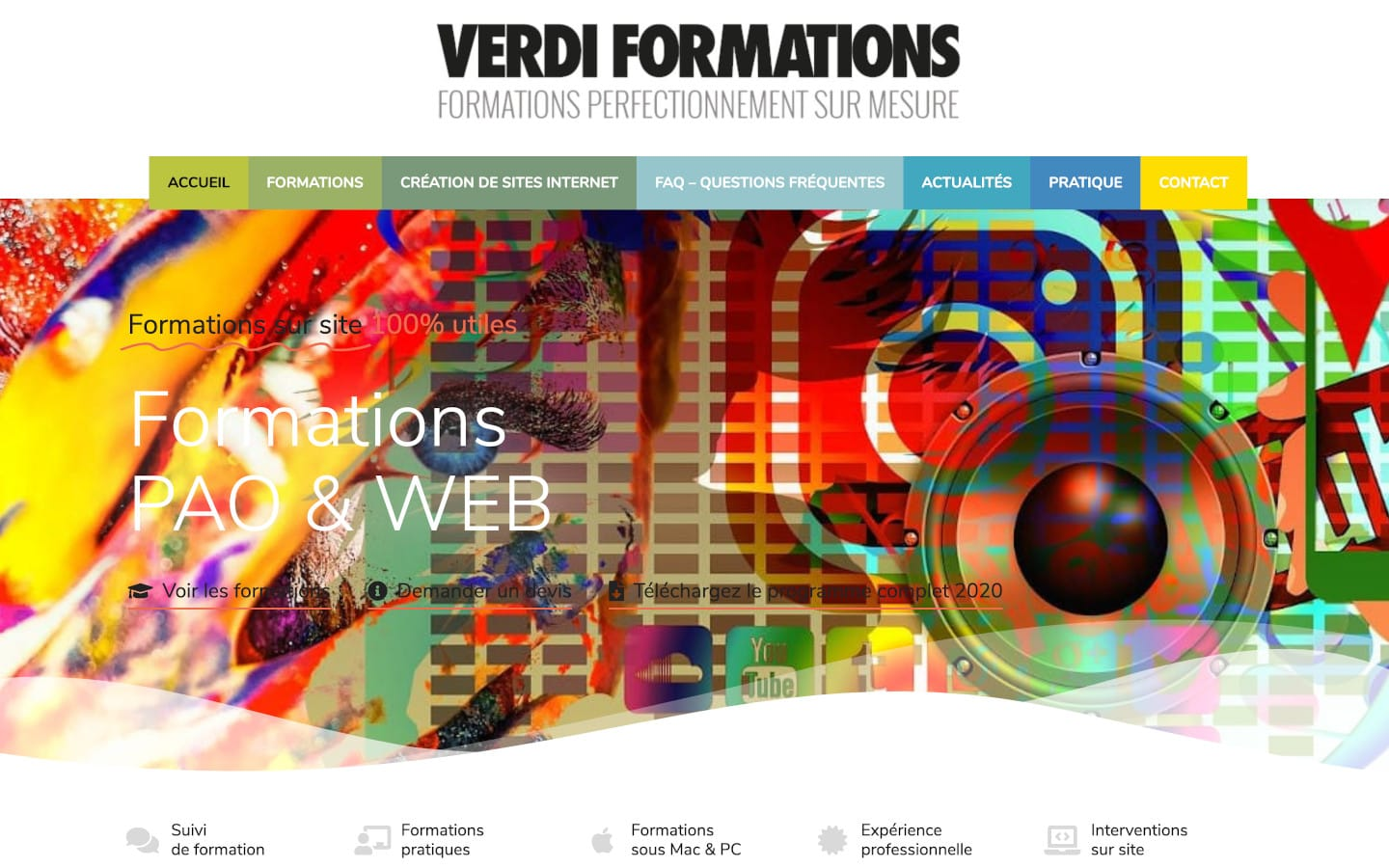 Verdi Formations PAO WordPress Lorient