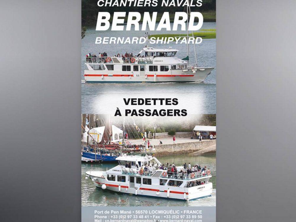 Print Roll up Bernard Naval Salon Navexpo