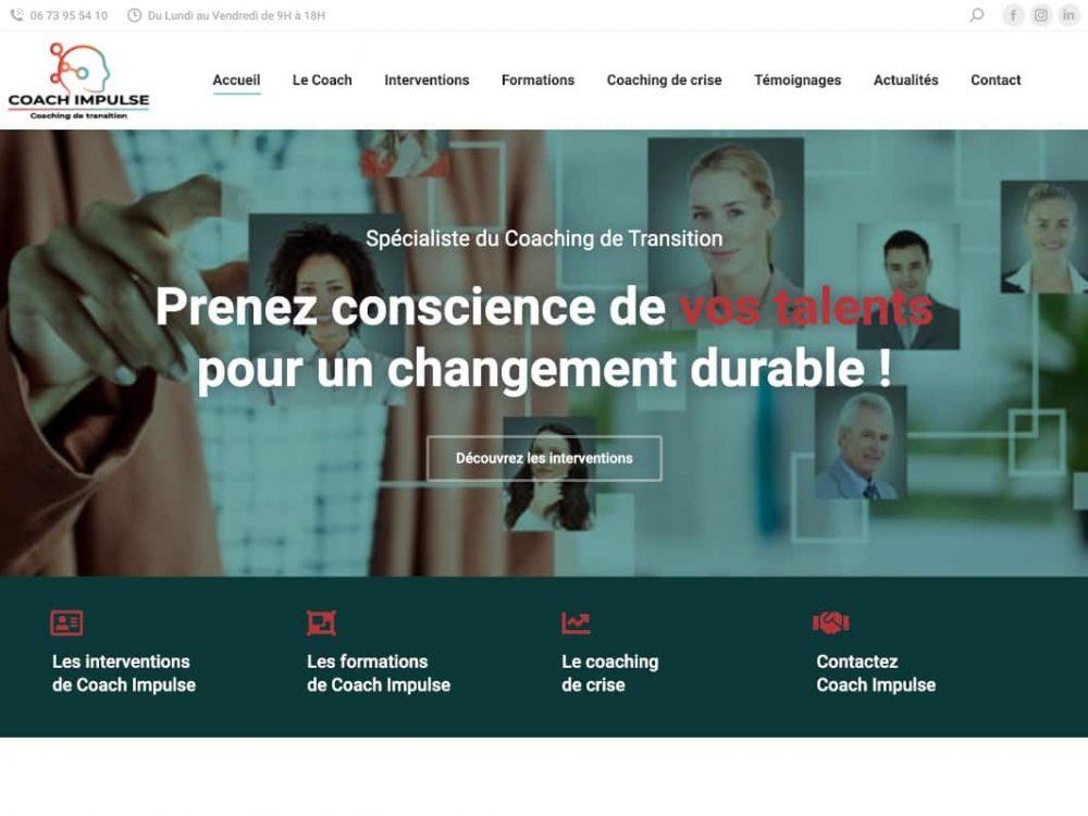 client charte-graphique-site-internet-coach-impulse